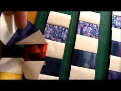 How to Quilt - Rainbow Trip Around the World Quilt Pattern