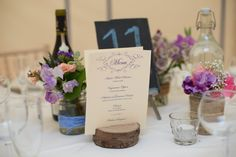 rustic wedding decor table