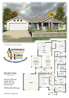 Affordable Quality Homes - Endeavour 258sqm