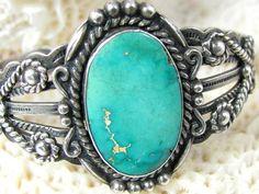 Vintage Native American Turquoise Bracelet $150
