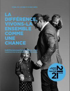 """""""Campagne Trisomie 21 2014"""" - de Trisomique. Et Alors?"""