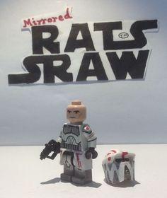 Lego Star Wars minifigures - Clone Custom Troopers - Sgt Hound