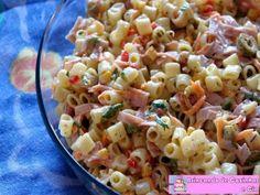 Receitas - Salada de Macarrão Padre Nosso - Petiscos.com