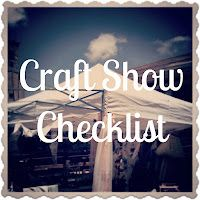 downloadable checklist for craft show vendors