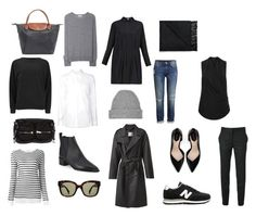 Packing light three day trip by solvor-lyngstad on Polyvore featuring Cheap Monday, Alexander Wang, dVb Victoria Beckham, Equipment, Carolinaritz, STELLA McCARTNEY, H&M, Acne Studios, New Balance and Zara