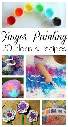 Finger Painting Idea
