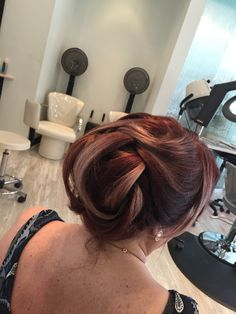 Evening hair style and color By Annette StyleBar at shoppes of Old Bridge, NJ
