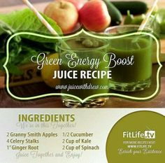 GREEN ENERGY BOOST JUICE