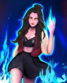 Avatar Azula, Team Avatar, Cartoon Girl Drawing, Girl Cartoon, Warcraft Art, Avatar The Last Airbender Art, Seven Deadly Sins Anime, Anime Poses Reference, Fire Nation
