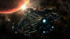 #art #scifi #spaceships