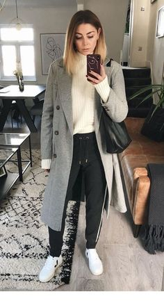 193bf5f3049cb Normcore, Coat, Jackets, Style, Fashion, Swag, Moda, Sewing Coat