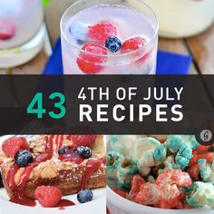 Healthier 4th of July Recipes