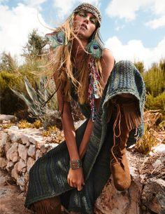 Hippie Style, Bohemian Style, Boho Chic, Emmanuelle Alt, Vogue Paris, Fashion Editor, Editorial Fashion, Fashion News, Photo Portrait