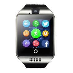 SmartWatch Bluetooth smart watch support SIM TF card pedometer Android music player for smart phone Huawei xiaomi Samsung Android Wear, Best Android, Android Watch, Android Smartphone, Android Camera, Android Music, Camera Apps, Android Phones, Samsung Galaxy S6
