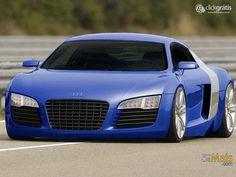 Papel de Parede - Audi Azul