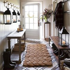 """36.3k Likes, 336 Comments - Country Living (@countrylivingmag) on Instagram: """"Mornings in the mud room. #CLdecor #interiordesign #country #regram @shopterrain"""""""