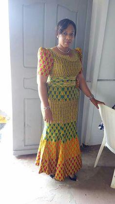 Mode femme Gisel African Inspired Fashion, Latest African Fashion Dresses, African Print Dresses, African Print Fashion, African Dress, African Attire, African Wear, African Women, Kitenge