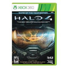 XBOX 360 GAME HALO 4 GAME OF THE YEAR EDITION BRAND NEW SEALED #ad