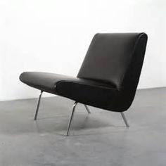 Joseph Andre Motte; Lounge Chair for Steiner, 1950s.