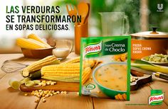 Campaign developed by BorguiErh LOWE #advertising agency for #creamy #soups Knorr (Unilever). Photographs by Marcelo Ribeiro. #Food #MRibeiroPhoto #MakingHappen #Still