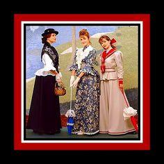 Victorian Costume Sewing Pattern-Mary by FarfallaDesignStudio