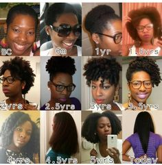 Natural head of hair journey. All natural hair journey. Natural Hair Regrowth, Pelo Natural, Long Natural Hair, Natural Hair Journey, Natural Hair Styles, Long Curly, Natural Girls, Natural Braids, Hair Growth Stages