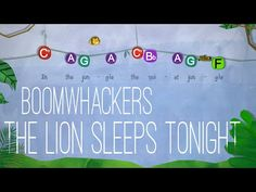The Lion Sleeps Tonight - Boomwhackers Preschool Songs, Music Activities, Movement Activities, Music Games, Elementary Music Lessons, The Lion Sleeps Tonight, Middle School Music, Piano Teaching, Teaching Tips