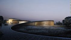 This plan won the international design competition for the new Museum of the Human Body in Montpellier, France.