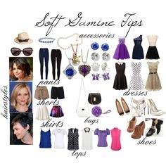 Soft Gamine Tips by commorragh on Polyvore