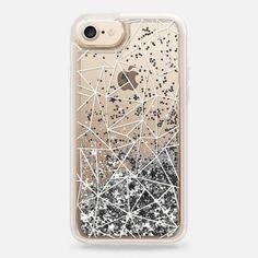 Geometric, glitter, iphone case, transparent, clear **$10 off and FREE shipping with code 5UUFAR**