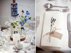 Blue 1920s Floral Feel Wedding http://jasminejadephotography.co.uk/