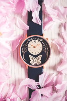 Give a loved one the gift of time with this beautiful artist-designed Butterfly Watch from British brand Dial.
