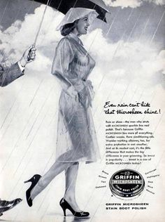 Notice how the creators of the ad conveniently forgot to put clothing -besides the raincoat- on the woman. Another 12 Sexist Vintage Ads - Oddee.com (sexist ads)