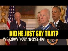 Obama just Exposed JOE BIDEN during Medal of Freedom CEREMONY - Occult Pedophiles! - YouTube