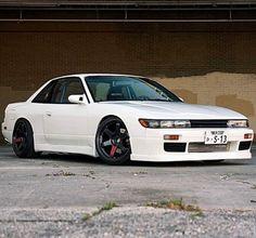 Awesome Nissan Silvia with nice wheels Nissan Silvia, B13 Nissan, Nissan 240sx, Classic Japanese Cars, Japanese Sports Cars, Patrol Y61, Nissan Patrol, Tuner Cars, Jdm Cars