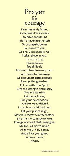 Christs has won the final victory. Let his truth make you strong and courageous.
