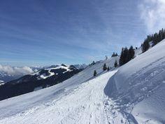 #Skifahren macht nicht nur Spaß sondern beschert einem auch atemberaubende Ausblicke...