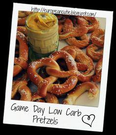Game Day Low Carb Pretzels  on MyRecipeMagic.com