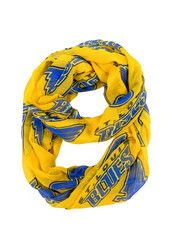 St Louis Blues Sheer Infinity Womens Scarf