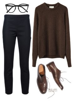 """82"" by szum ❤ liked on Polyvore featuring La Garçonne Moderne, Acne Studios, Selima Optique and Margaret Howell"