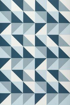 Remix | Papel de parede geométrico | Padrões de papel de parede | Papel de parede dos anos 70