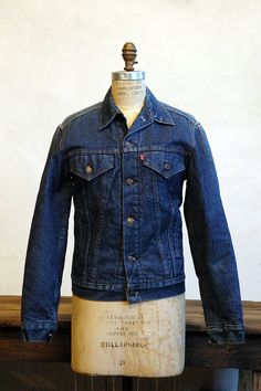 Jean jackets - I actually have my mom's from when she was growing up in the 60s and 70s