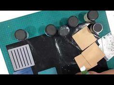Decorating Tea Coasters Using iCraft Chalk Paints and iCraft Stencils Tea Coaster, Chalk Paint, Stencils, Coasters, Make It Yourself, Decorating, Check, Youtube, Crafts