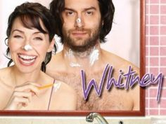 Whitney! Slowly becoming my favorite TV show.  Case in point, I watch it with commercials.