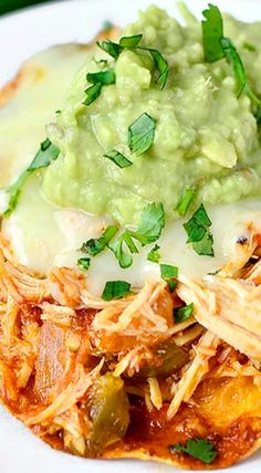 Crock Pot Chicken Ranchero.  Made the chicken in the crockpot (just without the ranchero sauce) and it was really tender.  Shredded it and added 1 cup ranchero and then used it for mini pepper nachos.  Hot ranchero on the side with avocado chunks and light sour cream.  Really good.  The ranchero was great, but I need to remember to use fresh garlic instead of pre-minced jarred.