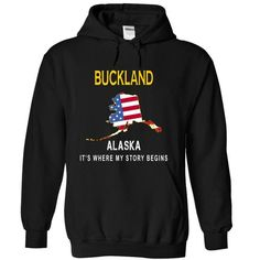 Awesome Tee BUCKLAND - Its Where My Story Begins T shirts