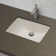 Decolav undermount sink - I like the shape