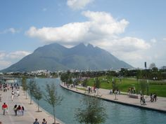 I studied Spanish here in high school--Monterrey, Nuevo Leon, Mexico.