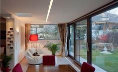 Esszimmer Haus G°E°E - HK Architektur St. Johann in Tirol Windows, Modern Log Cabins, Dining Rooms, Architecture, Essen, Floor Plans, Ramen, Window