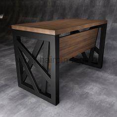 40 Ideas for steel furniture design loft Welded Furniture, Loft Furniture, Office Furniture Design, Iron Furniture, Diy Furniture Projects, Steel Furniture, Furniture Layout, Unique Furniture, Industrial Furniture